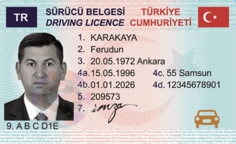 turkish drivers license turkey card - Turkish Drivers License, Foreigner application in Turkey