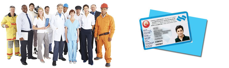 TURKISH WORK PERMIT AND VISA FROM ABROAD, APPLICATION FILL